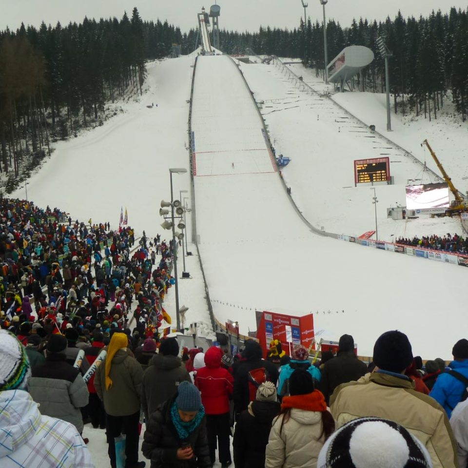 Skispringen in Klingenthal